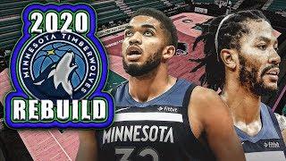 UNBELIEVABLE TEAM! Rebuilding The 2020 Minnesota Timberwolves! NBA 2K19 My League