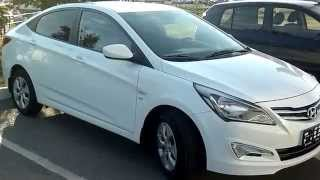Hyundai Solaris Sedan 2014 1.6 6AТ смотреть