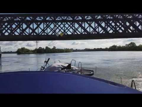 Ep # 1 - SAILING THROUGH EUROPE ON RIVERS AND CANALS - THE START UP THE RHONE