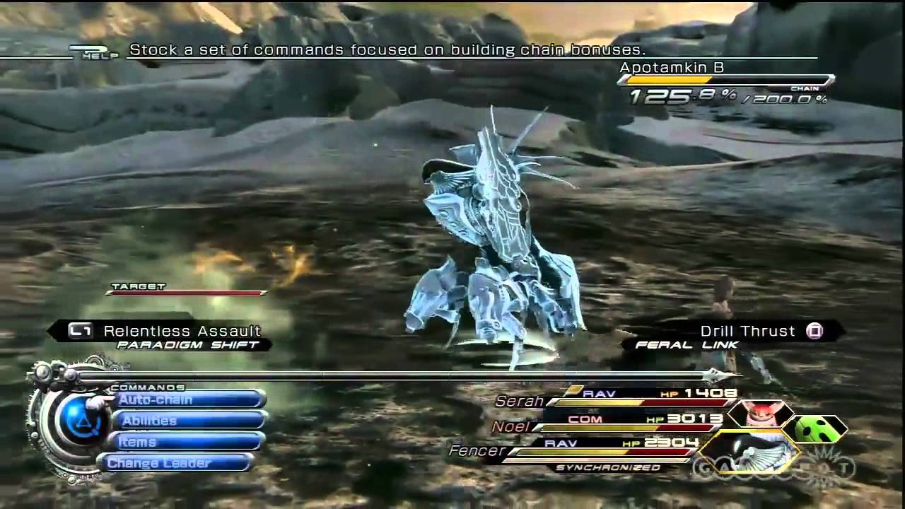 Crystarium Expanded - Final Fantasy XIII-2 Gameplay (PS3) - YouTube