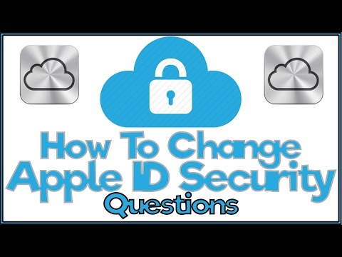 How To Reset Apple ID Security Questions - FULL TUTORIAL