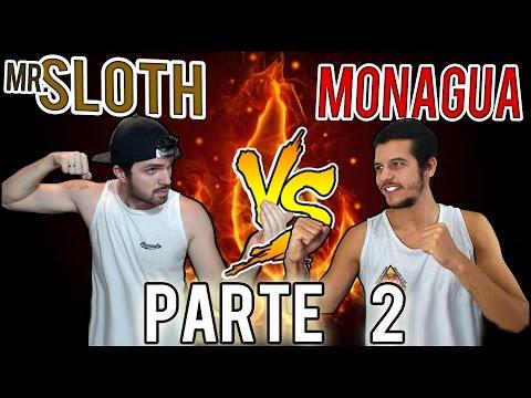 SLOTH VS MONAGUA - BATALHA ÉPICA ENTRE 2 NOOBS -  2