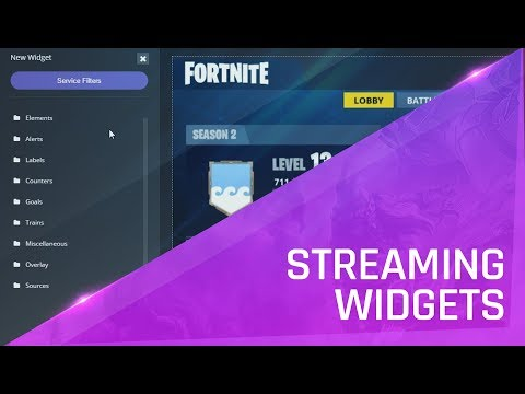 How to setup your streaming widgets with Player.me Create