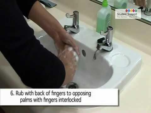 Hướng dẫn rửa tay đúng cách, đảm bảo vệ sinh