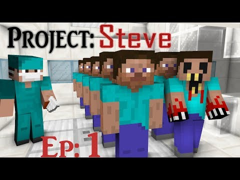 The STEVE Project - Zombie Original Horror | Episode 1: Steve is a CLONE?!