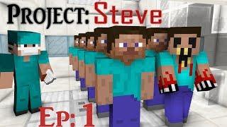 The STEVE Project Zombie Original Horror Episode 1 Steve is a CLONE