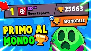 Playing with the FIRST in the WORLD! 🏆 Brawl Stars