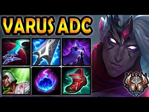 Varus vs Jhin [ ADC ] Lol Korea Challenger Patch 10.23 ✅