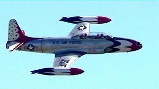 T-33 Thunderbird/F-80 Shooting Star - Homestead, 2012