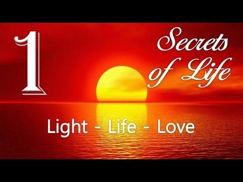 1. LIGHT, LIFE & LOVE ... JESUS ELUCIDATES ❤️ SECRETS OF LIFE revealed thru Gottfried Mayerhofer