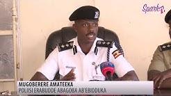 Poliisi y'ebidduka ewadde ebiragiro ebinagobererwa mu nnaku enkulu