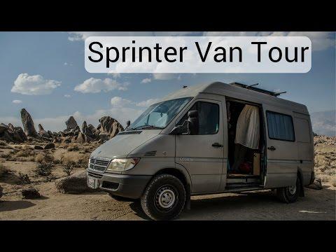 One Chick Travels - Sprinter Van Tour!