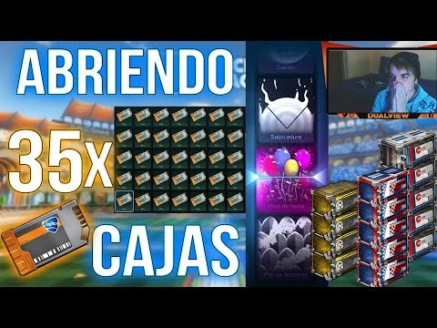 ABRIENDO 35 CAJAS LA HE LIADO OPENING ROCKET LEAGUE
