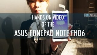 ASUS FonePad Note FHD6 Hands on