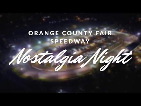 2018 Orange County Fair Speedway Nostalgia Night
