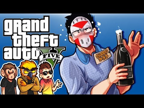 GTA 5 - BEST CLUB EVER!!!! (Funny Moments) After Hours Nightclub DLC!