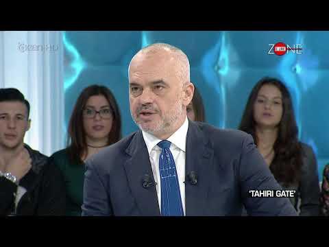 """Zone e Lire/ Edi Rama flet per """"ceshtjen Tahiri"""" (27.10.17)"""