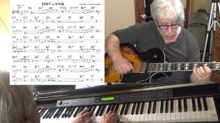 Easy Living - jazz guitar & piano cover ( Leo Robin & Ralph Rainger ) Yvan Jacques