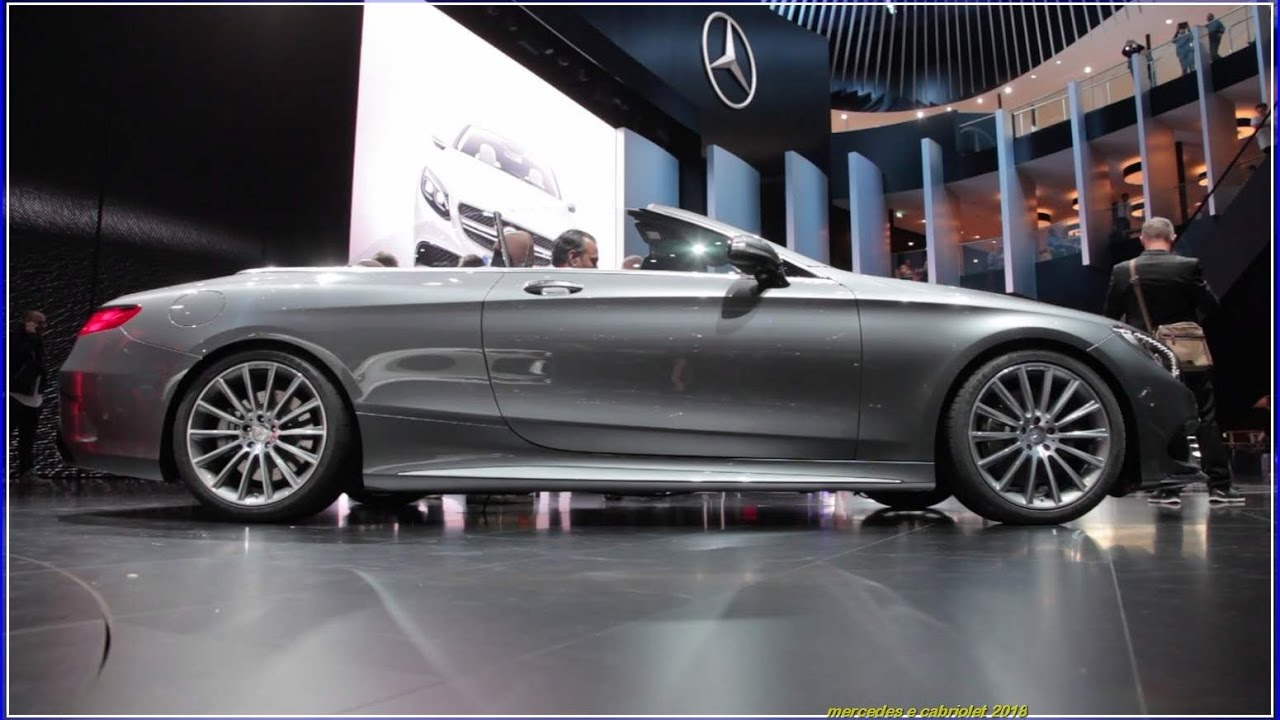 mercedes e cabriolet 2018 specs interior exterior price. Black Bedroom Furniture Sets. Home Design Ideas