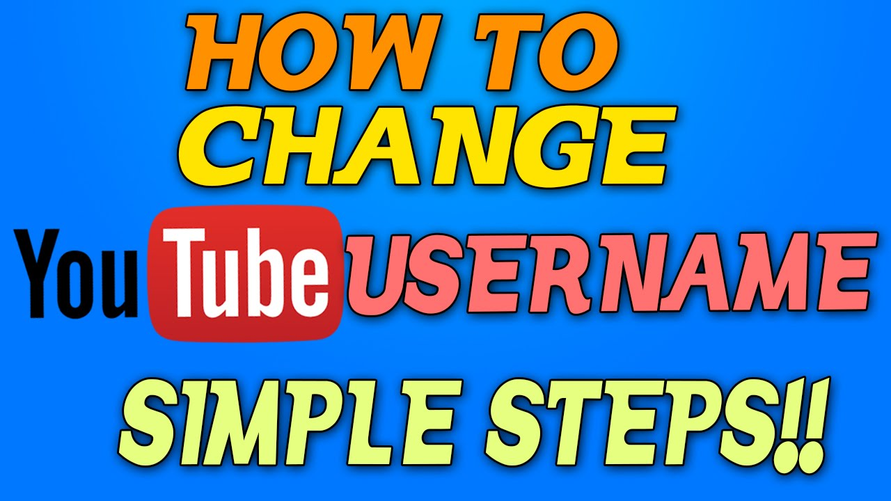 how to find your youtube user name
