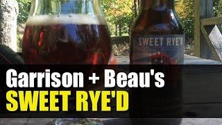 Garison Brewing + Beau's Brewing Sweet Rye'd - Craft Beer Review