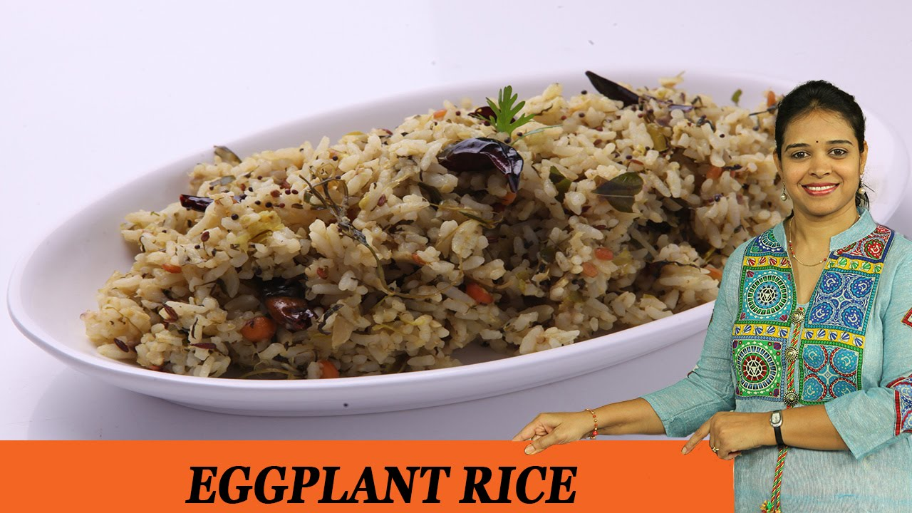 How to cook eggplant rice 63