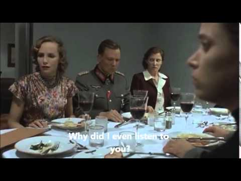 Hitler reacts (again) to Clarina news (English subtitles)