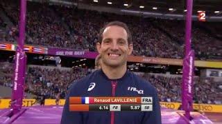 Mondiaux d'athlétisme : Renaud Lavillenie ou l'orgueil d'un champion