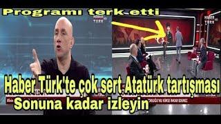 Haber Türkte çok sert Atatürk tartışması    Ertan Özyiğit, İsmail Saymaz, Semih Çetin, Kenan Alpay