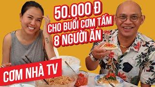 Cơm Nhà TV#32: Cơm tấm nhuyễn bì mỡ hành Color Man làm ngon vầy chắc phải mở quán quá???