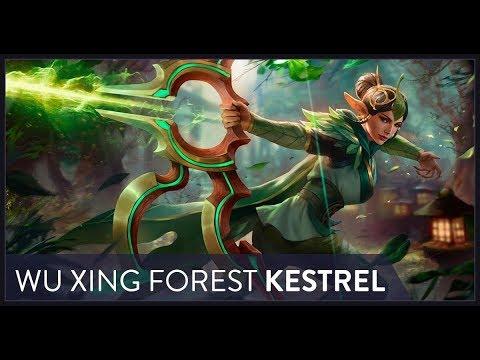 NEW WU XING FOREST KESTREL! Vainglory 5v5