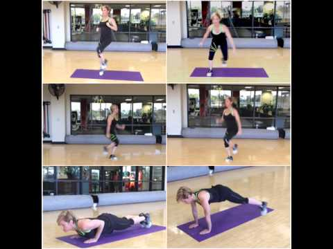 Jamie Eason Full Body Circuit (3 parts) Part 1