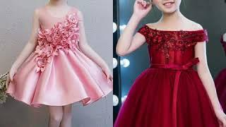 Vestidos para niña de fiesta modernos