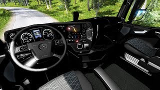 [ETS2 v1.36] Mercedes MP4 Full Black Interior