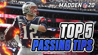 Top 5 Passing Tips in Madden 20!