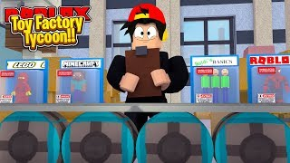 ROBLOX - THE TOY FACTORY TYCOON!!