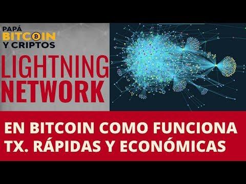 Como funciona Lightning Network en BITCOIN, explicado en Español