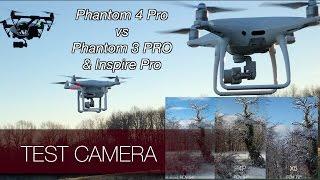 La caméra du Phantom 4 Pro comparée à l