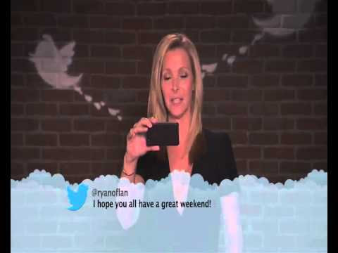 Celebrities Read Mean Tweets LISA KUDROW