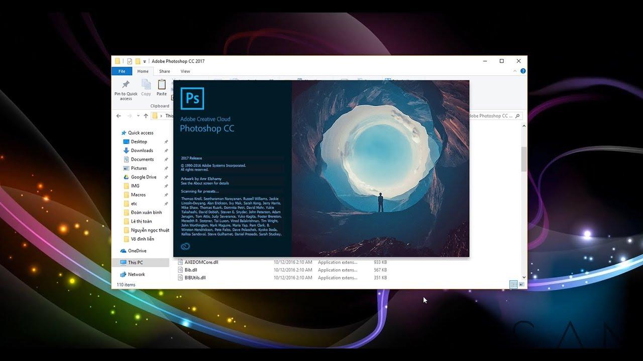 Download & install Adobe Photoshop CC 2017 Engsub from Vietsub (tiếng Việt)   San