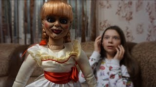 The living Annabelle doll in reality • Nepeta