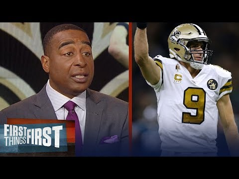 Cris and Nick react to the Saints' blowout win over the Eagles   NFL   FIRST THINGS FIRST