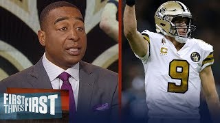Cris and Nick react to the Saints' blowout win over the Eagles | NFL | FIRST THINGS FIRST