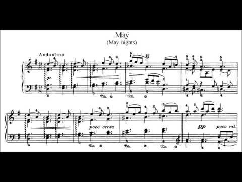 Tchaikovsky: The Seasons, Op37a Primakov, Pletnev