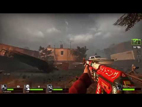 Left 4 Dead 2 - AK-47 Bloodsport (CS:GO Skin)