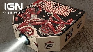 Hong Kong Pizza Hut Boxes Can Now Play Movies - IGN News