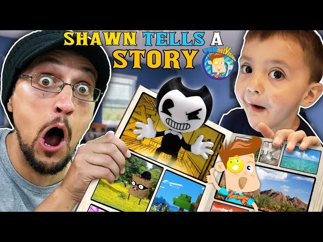 SHAWN'S IMAGINATION COMES TO LIFE! (FUNnel Fam Animated Story Time)