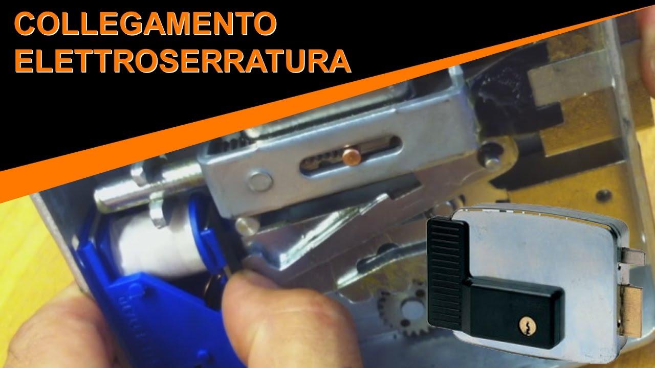Schema Elettrico Per Elettroserratura : Facile come collegare l elettroserratura e