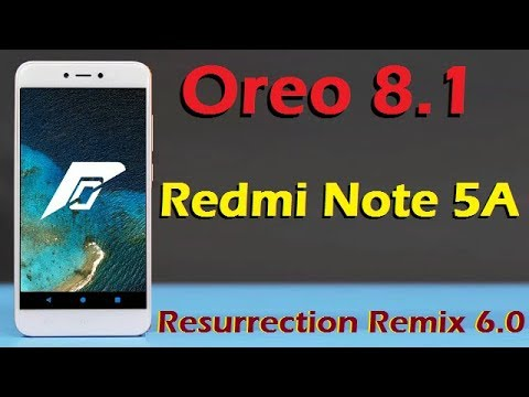 Android oreo xiaomi redmi note 5a prime | How To Install