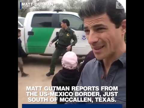 Garret Lewis - ABC News Proves Wall Is Needed; Illegals Cross Border In Droves